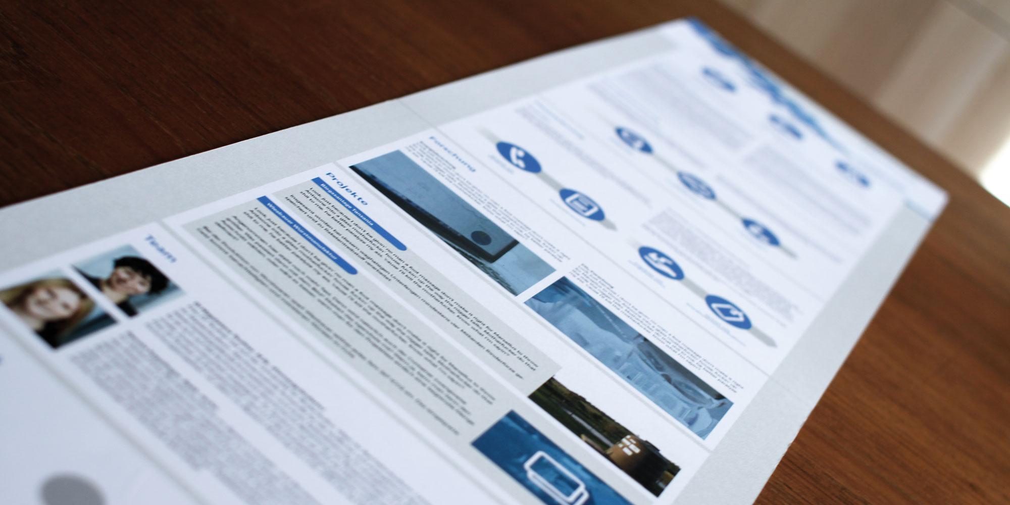 kleinkraft Website – Onepager